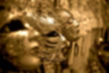 Masquerade Masks Gold