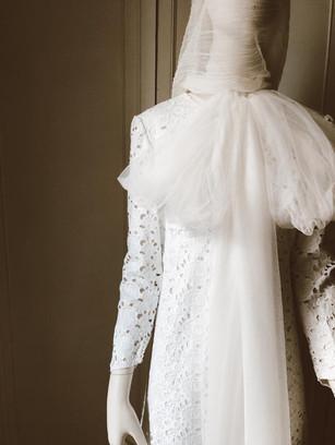 Vestido de novia original y diferente a medida