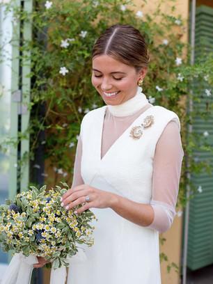 Vestido de novia medida en Madrid