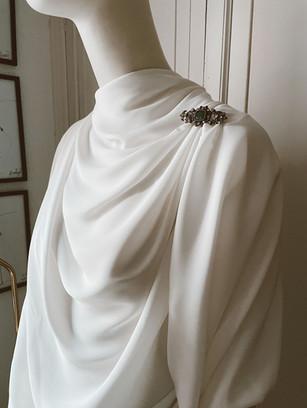 Vestido de novia de estilo griego