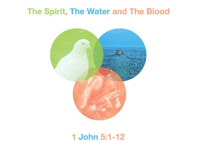 The spirit, the water and the blood