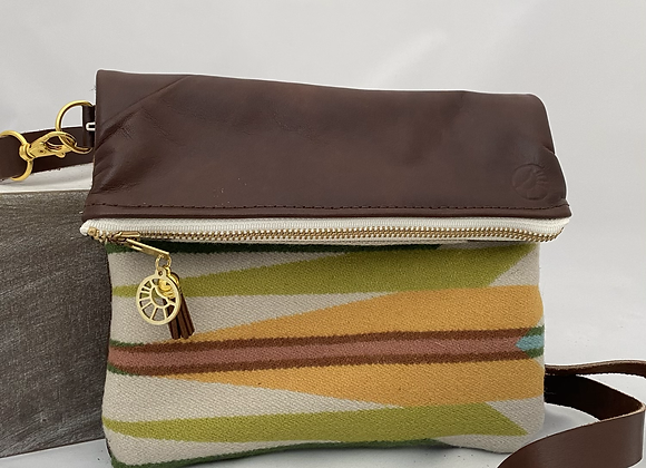 Colorful Crossbody in Brown