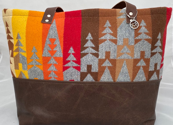 Fall Forest Weekender Tote
