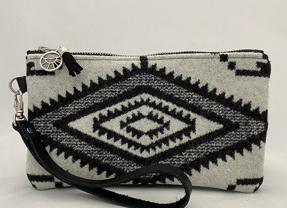 Black White Flipside Clutch
