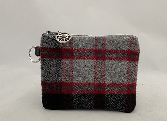 Soft Plaid Card Wallet