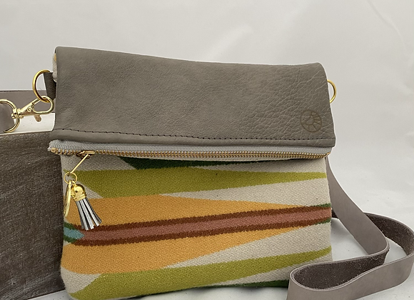 Colorful Crossbody in Grey