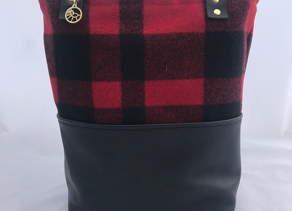Red Buffalo Plaid Daily Tote