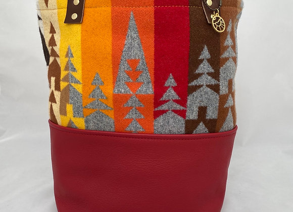 Fall Fire Daily Tote