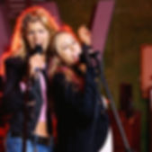 meisjes zingen