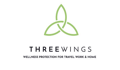 Three Wings Protection for travel, work and Home logo