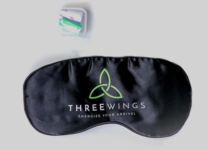 Three wings sleep mask