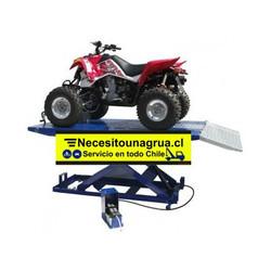 Fabricacion1 elevador hidraulico tijera para moto quad y tractor Necesitounagrua