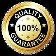 100% quality guarantee
