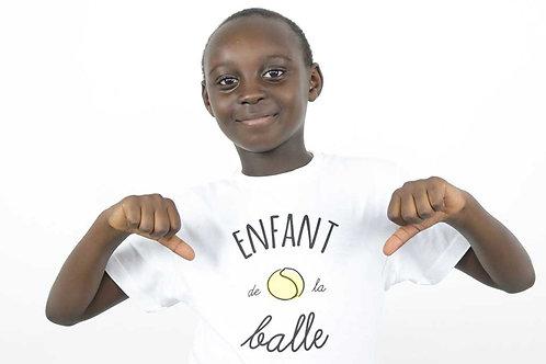 """T-shirt enfant """"Enfant de la balle"""""""