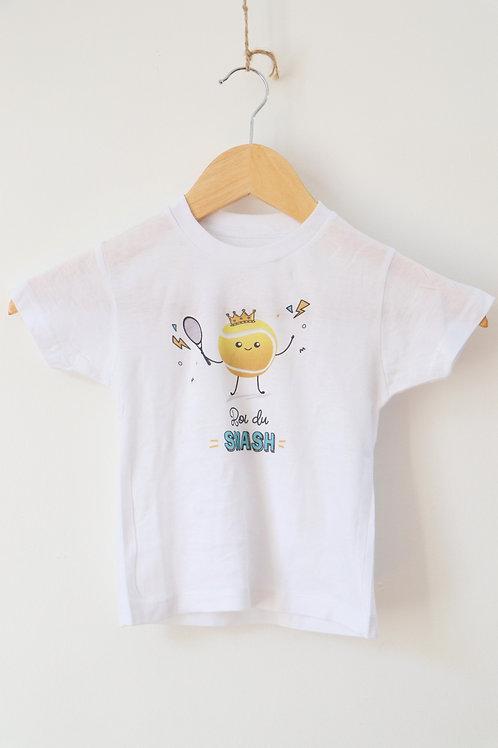 "T-shirt enfant ""Roi du smash"""