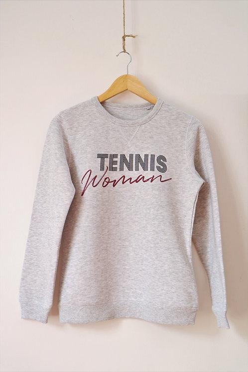 """Sweat femme """"Tennis Woman"""""""