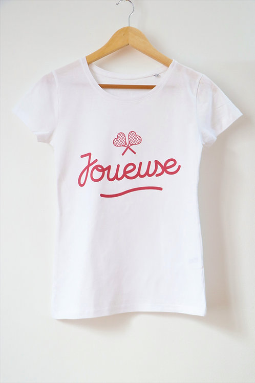 "T-shirt femme ""Joueuse"""