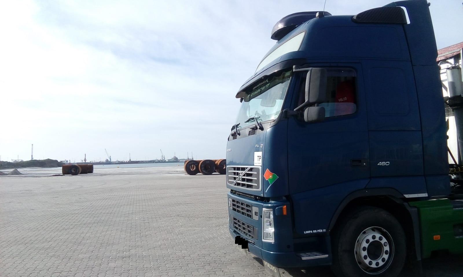 Porto de Aveiro - Transp. Milho