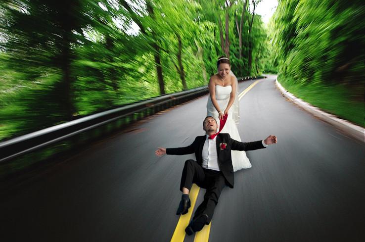 Byron + Vicky Roadway