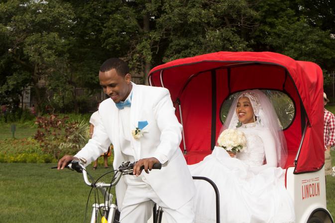 Groom bike ride