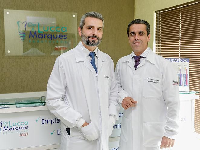 Leandro De Lucca e Marcio Marques
