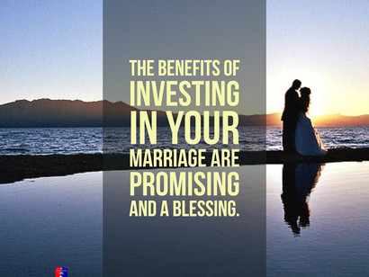 INVEST IN YOUR MARRIAGE