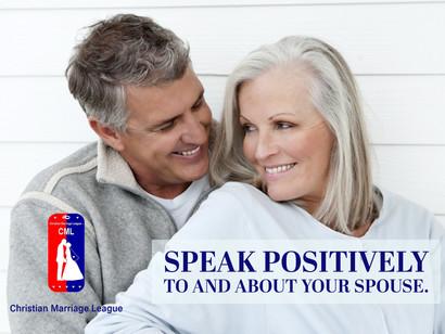 SPEAK POSITIVE