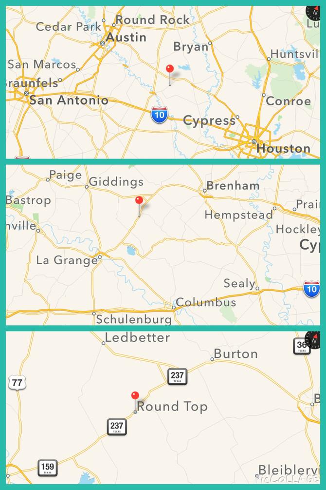 Where is Round Top Texas? Original Round Top Antiques Fair Texas