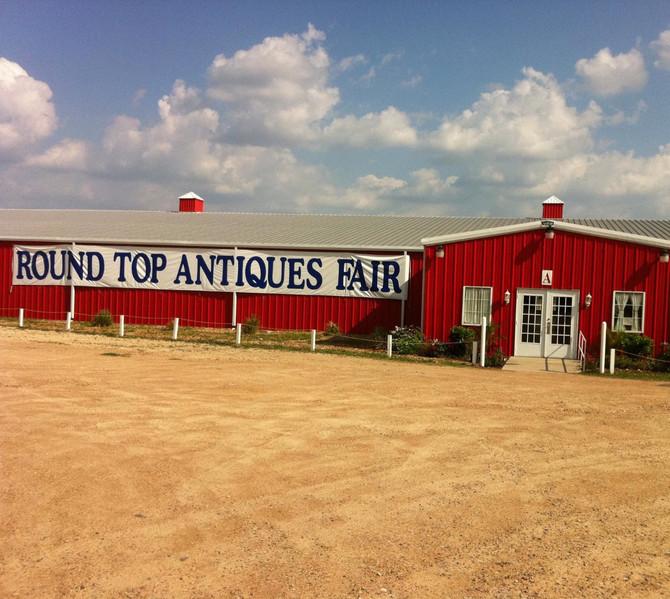 Original Round Top Antiques Fair Texas 47th Annual Fall Antique Show