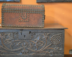 Beautiful Early Trunks & Boxes