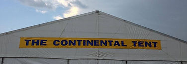 Continental Tent at the Big Red Barn Event Center Round Top Texas