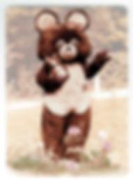 Misha Bear Olympic Mascot made by Facema
