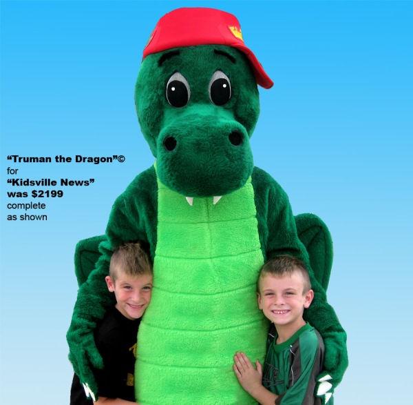 Facemakers Custom Dragon Mascot Costumes