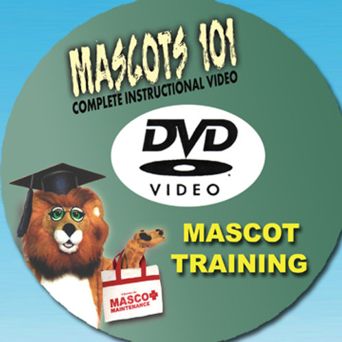Mascots 101 DVD