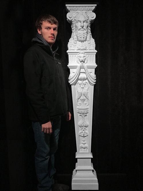 Full-sized Complete Caryatid, God