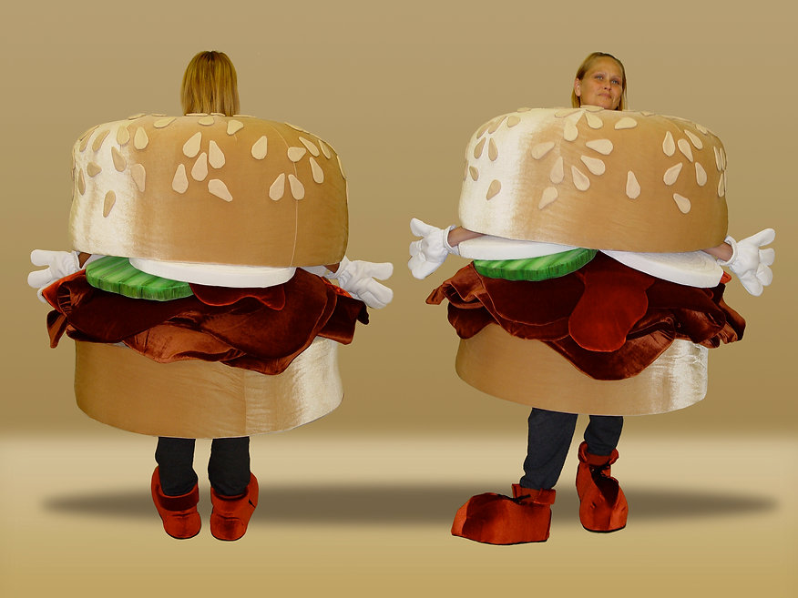 Facemakers Sandwich Mascot Costume
