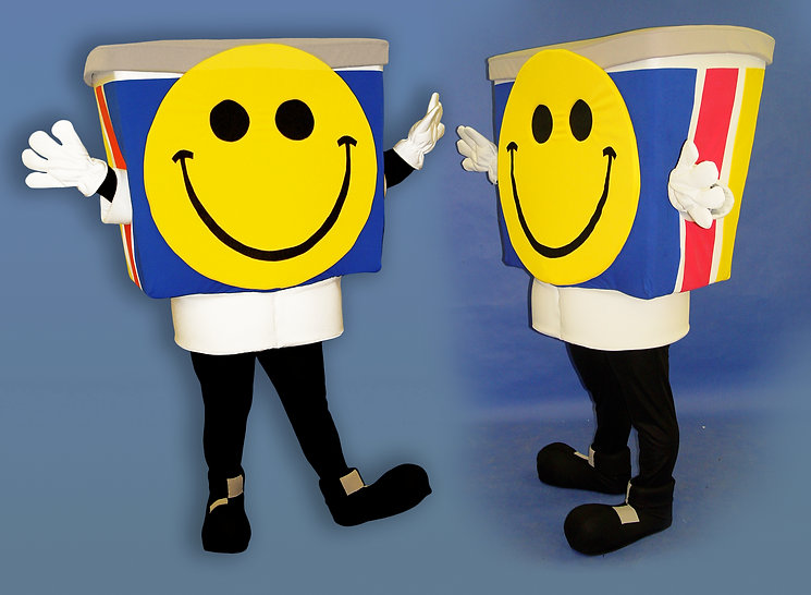 Facemakers Printer Ink Mascot Costumes