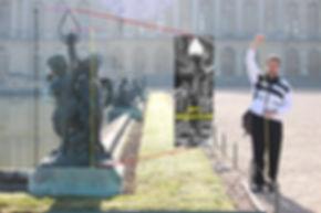 """Alan St. George researches the Versailles statue by Pierre Granier """"L'enfant avec la torche"""" which  is the Titanic cherub lamp prototype."""