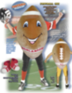 Facemakers Football Mascot Costumes