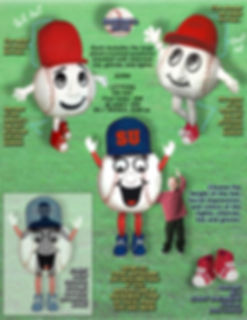 Facemakers Baseball Mascot Costumes