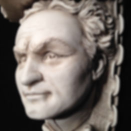 Houdini collectible bust sculpture by Alan St George