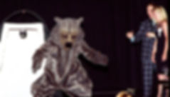 Facemakers grizzly mascot costume