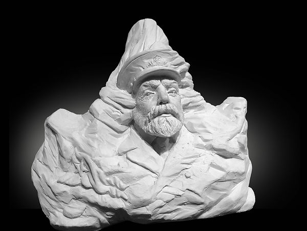 Titanic sculptor Alan St. George's work Captain Edward J. Smith: The Iceberg Portrait