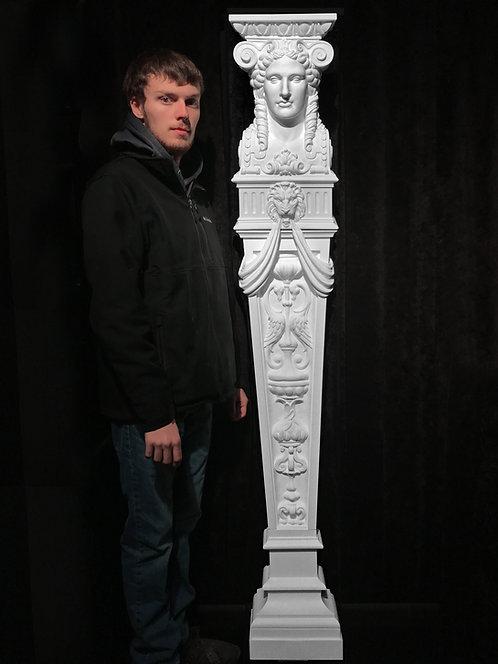 Full-sized Complete Caryatid, Goddess