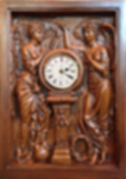 RMS Titanic Grand Staircase Clock faithfully reproduced for your collection!