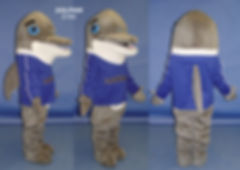 Facemakers Dolphin Mascot Costumes