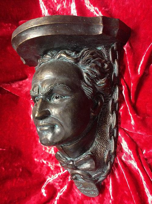HOUDINI SHELF Patinated Bronze