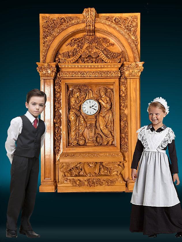 1:2 scale Complete Titanic Clock