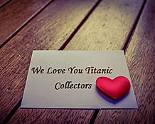 We love our Titanic collectors at TitianicClock.com
