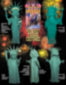 Facemakers Statue of Liberty Mascot Costumes